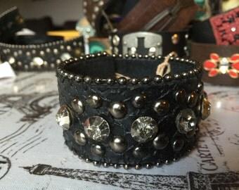 Studded cuff bracelet-price reduced