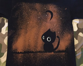 Halloween shirt. Little Cat.