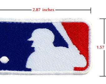 MLB Embroidered Iron on Patch Logo Major League Baseball.