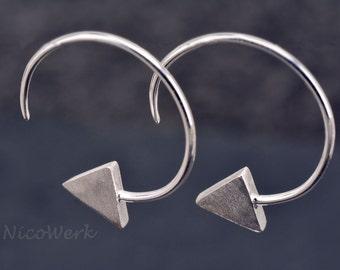 Silver earrings women's earrings jewelry earrings 925 gift SOR145