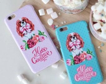 "IPhone Case ""I Love my Cavalier"""