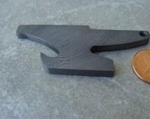 Unique damascus opener related items etsy for Santa fe stoneworks letter opener