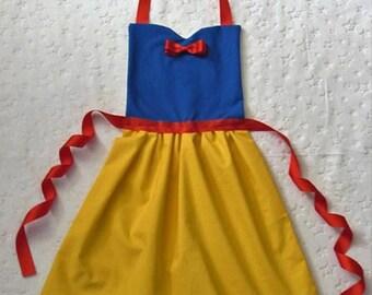 Snow White Disney Princess Inspired Apron
