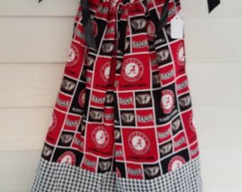 Alabama Block print Pillowcase Dress