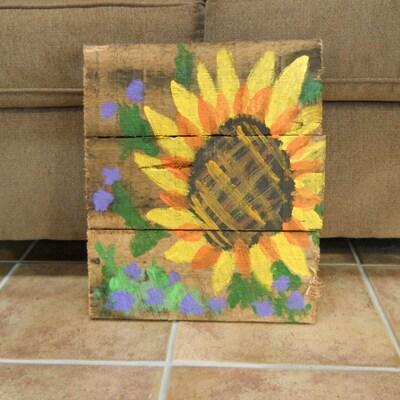 SunflowersnViolets