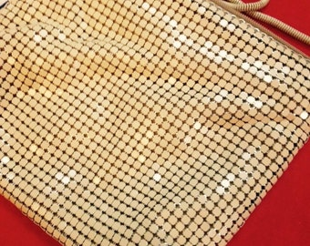 Mesh, Chain Mail, Hong Kong, 60's evening bag, purse.