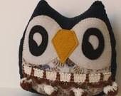 Fiona the Owlet little owl pillow plushie