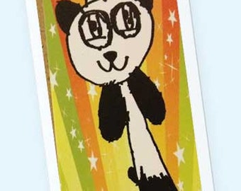 Pandacorn Book mark with Sleeve