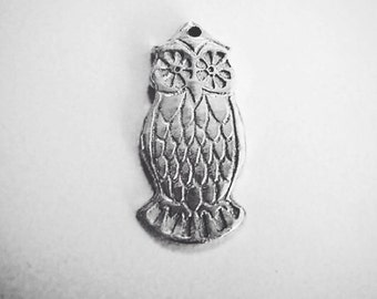 Wise Archimedes owl  pendant