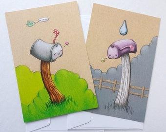 Mailbox Postcards