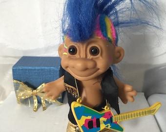 Punk Rock Russ Troll Doll Circa 1990