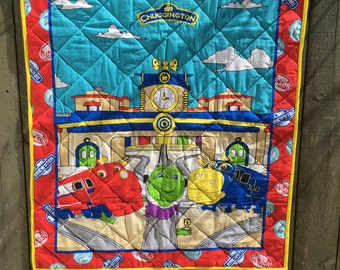 Chuggington Baby Quilt FREE SHIPPING