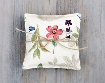 Botanical Lavender Sachets, Cottage Home Decor