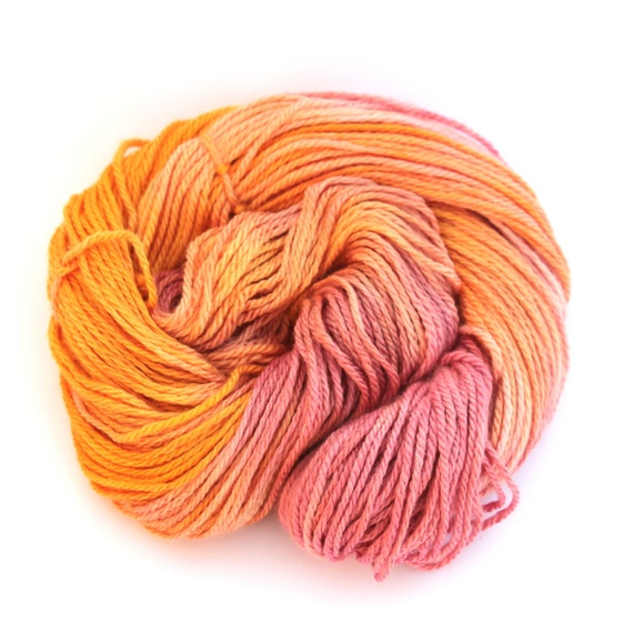 Knitting Wool Uk Only : Hand dyed worsted aran wool handdyed merino silk