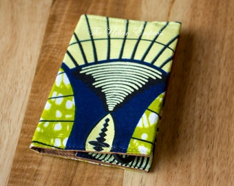 Fabric Passport Cover with closure