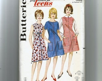 Butterick Misses' A-Line Dress or Jumper and Blouse Pattern 2984
