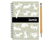 2016 2017 custom planner for dog owner, weekly planner, personalized daily calendar, dog lover gift, 12 months, dog present, SKU: pli dog w