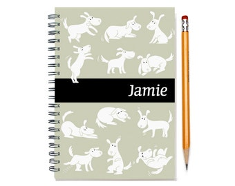 2017 custom planner for dog owner, weekly planner, personalized daily calendar, dog lover gift, 12 months, dog present, SKU: pli dog w