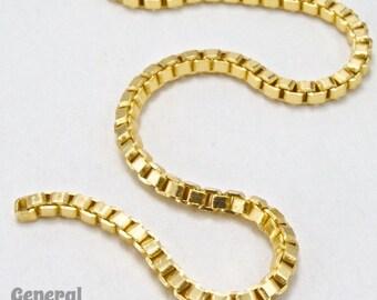 Bright Gold 2mm Box Chain #CC205