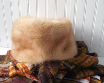 Fur Hat Winter Vintage Fashion