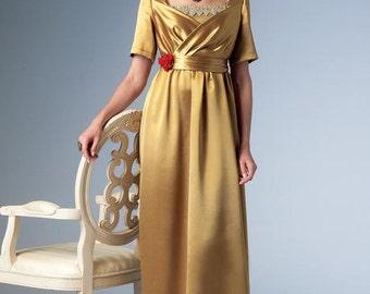 Butterick B6190 Sewing Pattern Empire Waist Dress, Jacket & Headbands Making History Edwardian, Downton Abbey, Size A5 6-14