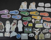 Baptism Flannel Board Family Home Evening Felt Story