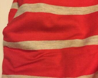 Stretch  Jersey  Knit 2 Yards Stripes