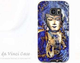 Blue Buddha Galaxy S7 / S7 Edge Case - Dual Layer Two Piece Protective Buddhist Tough Case - Inner Guidance