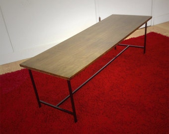 Haywood Coffee Table  Mid century occasional table  planner group style Mccobb