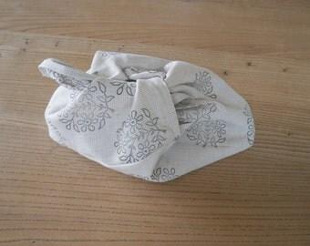 linen bento bag - medium