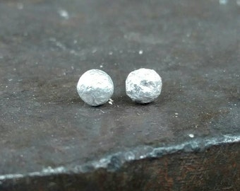 Molten -  sterling silver studs