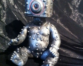 Baby Cam-Droid 2.0 Baby bot  Vintage Camera robot Kodak