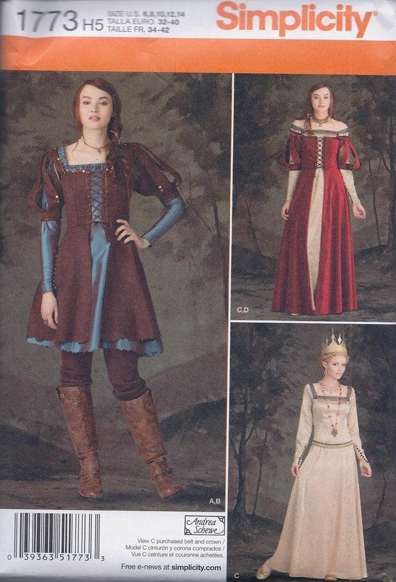 Medieval Renaissance Faire Huntress Lady Archeress Gown Dress ...