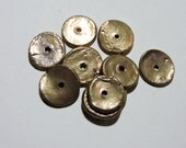 10 Metal Clay COPPER SPACERS Two Sisters Designs 030416J