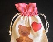 Valentine Gift Bag Teddy Bear