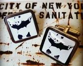Banksy 'Gangster Panda with Guns' Cufflinks