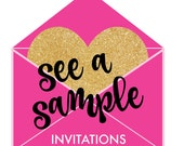 Invitation Sample