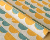Japanese Fabric - Bunting canvas - A - fat quarter