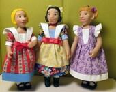 Sailor Dress for Little MO Dolls & Hitty Dolls #109
