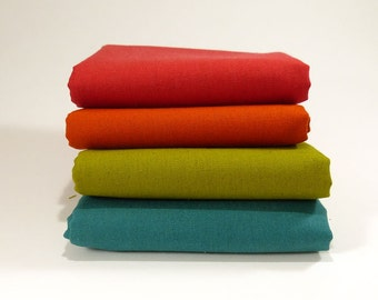 Bundle 4 different Mochi Linen Canvas from Moda