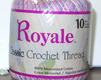 9 Crochet Thread~3 Aunt Lydia's Crochet Thread~1 Grandma's Best~3 South Maid~1 Royal~1 Knit Cro Sheer