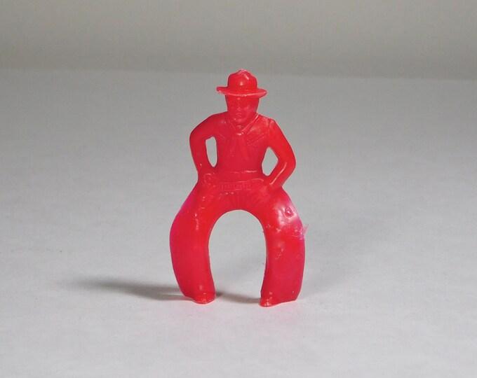 Vintage Plastic Red Cowboy Rider Gun Belt