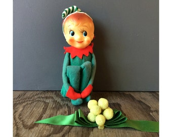 1950s Elf Decoration - Made in Japan by Noel
