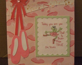 Ballerina Frog - Feel Good Home Decor