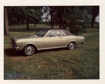 vintage photo 1968 Ford Futura Falcon Car Polaroid Perfection