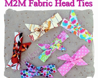 MADE TO MATCH Girl Fabric Headties