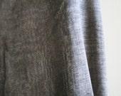 ITALIAN COTTON FABRIC / mottled grey