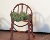 Miniature Fairy armchair rounded back