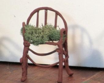 Miniature Fairy armchair rounded back