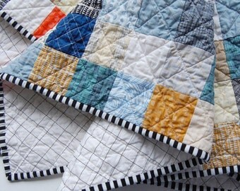 Custom Patchwork Baby Quilt